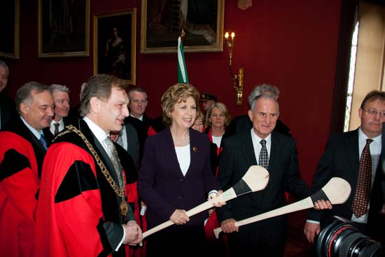 President and Dr.Martin McAleese